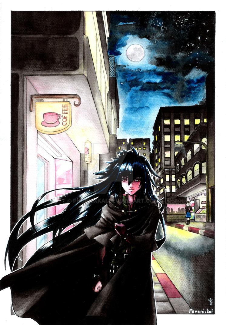 Wolf Moon: The Dark Knight by Phoenixkai