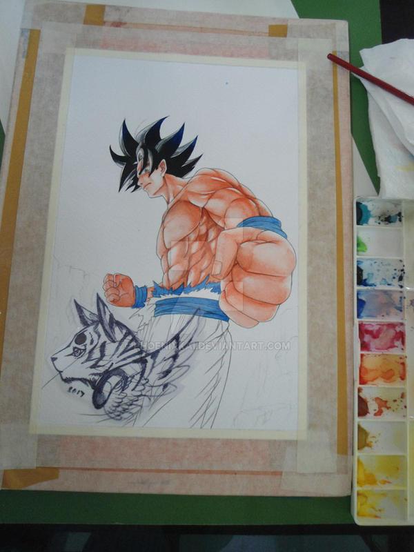 WIP: FA: Goku by Phoenixkai