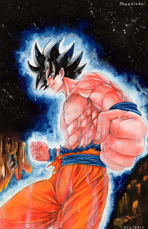 FA: Dragon Ball Super : Ultra instinct of Goku by Phoenixkai