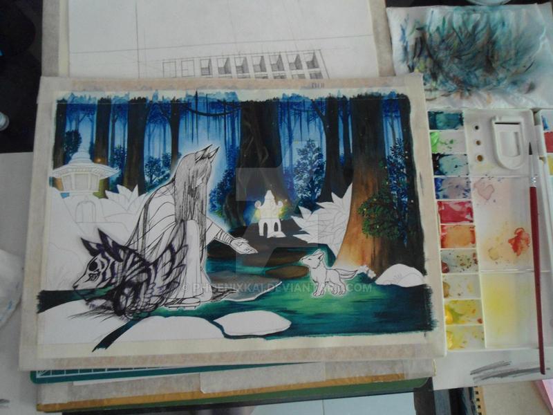 WIP: my art original by Phoenixkai