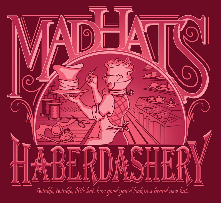 Mad Haberdasher by adiehltwin