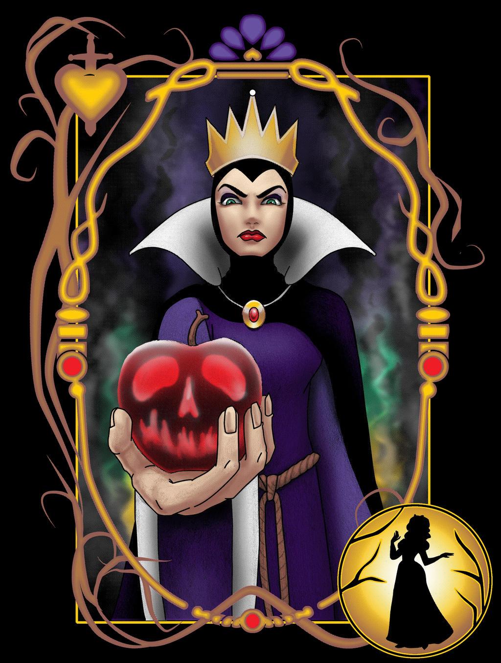 Full of Wicked Wiles by paxdomino on DeviantArtDisney Evil Queen Art