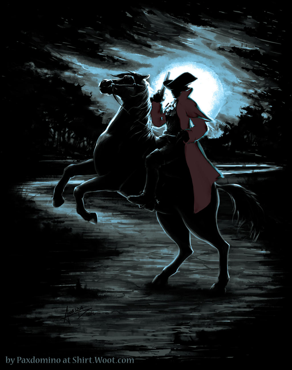 The Highwayman Comes Riding By Paxdomino On Deviantart