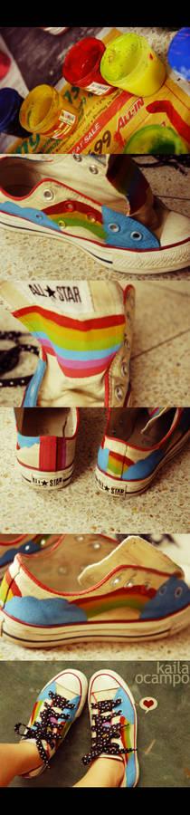 Rainbowfied Chucks