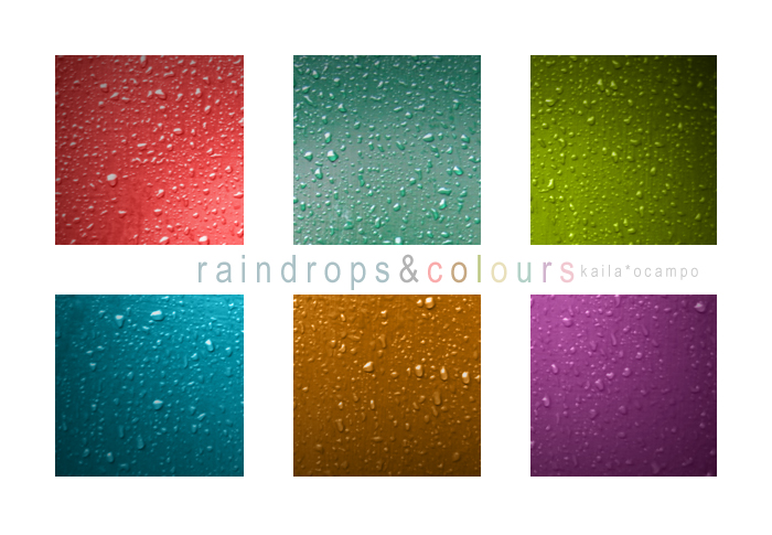 raindropsANDcolours by eerie-silence