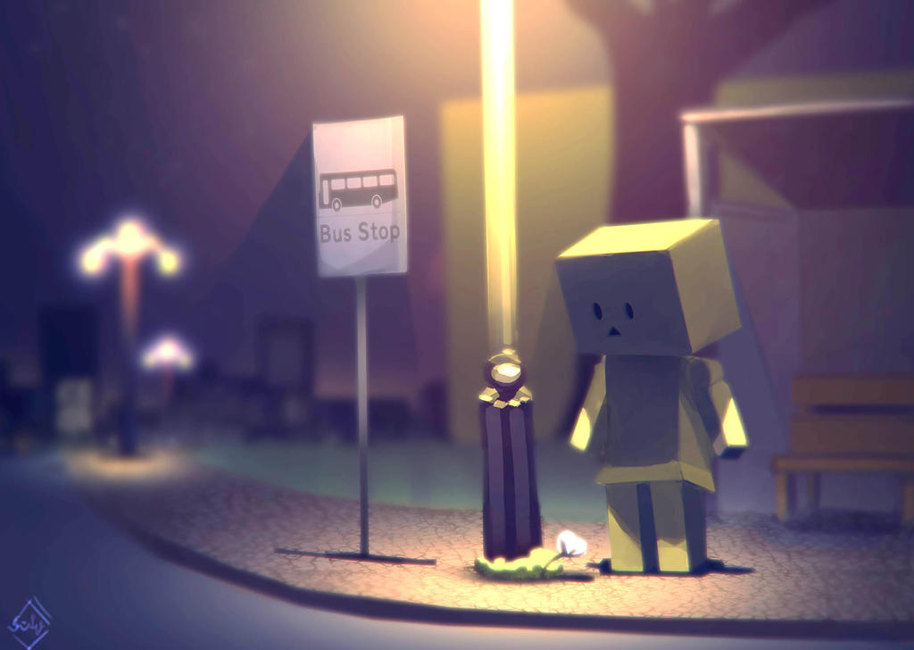 Danbo's Last Night by frixinthepixel