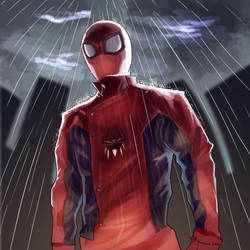 Last Stand Spider by mangamie