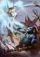 Heroes of Storm Battle! by mangamie