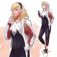 Gwen Gwen by mangamie