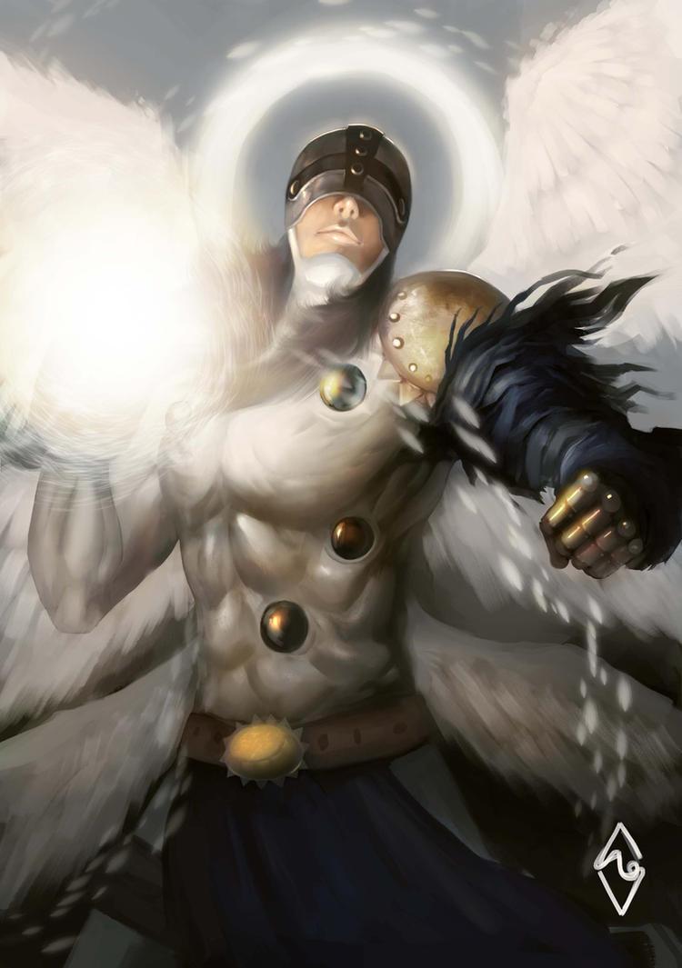 Angemon! by mangamie