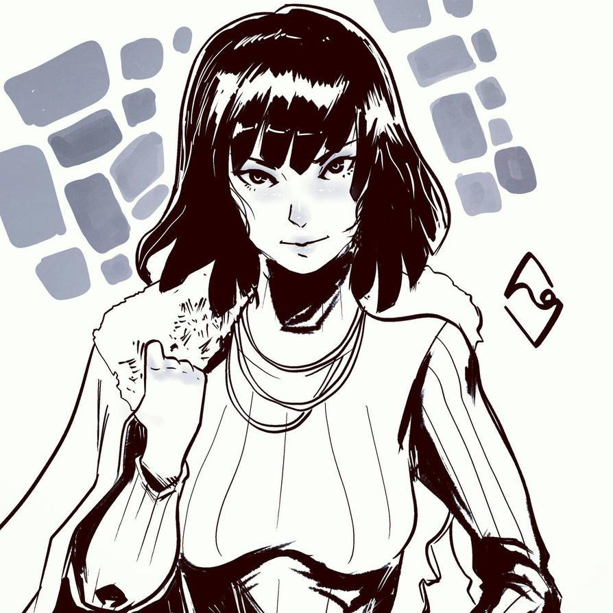 OPM fanart : Fubuki  by mangamie