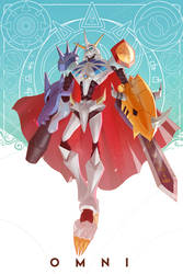 Omnimon! by mangamie