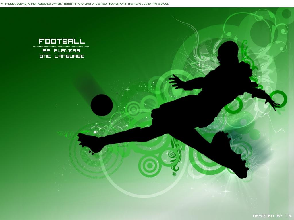 wallpaper soccer Photo