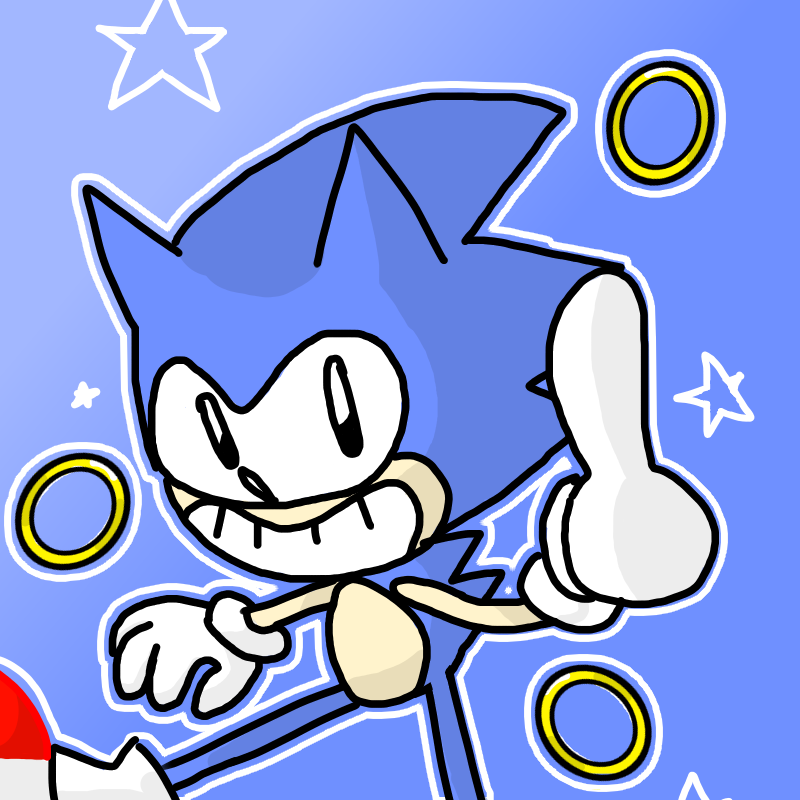 Sonic the Hedgehog by Crixaliszt