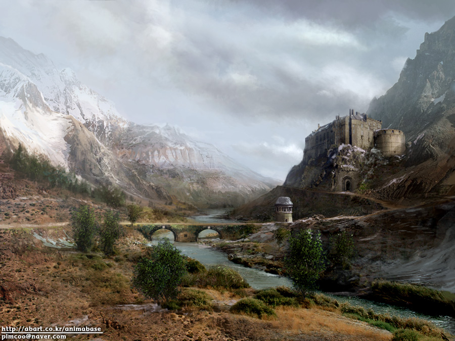 My mattepainting by animabase