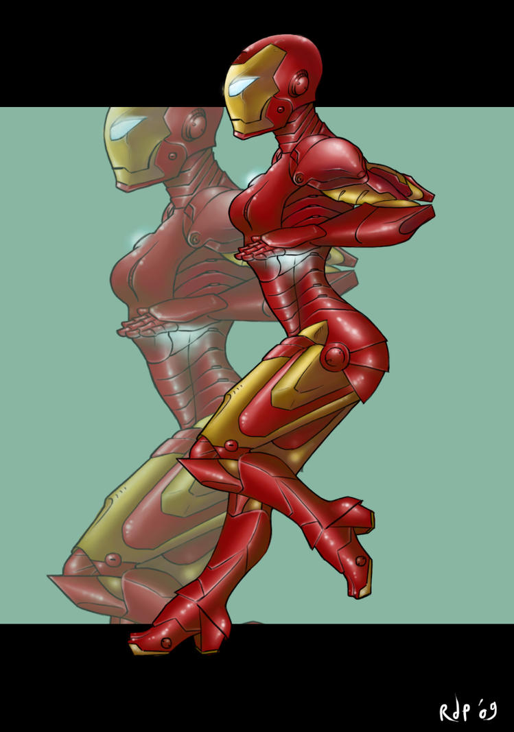 iron girl concept by RagazzaDiPlastica