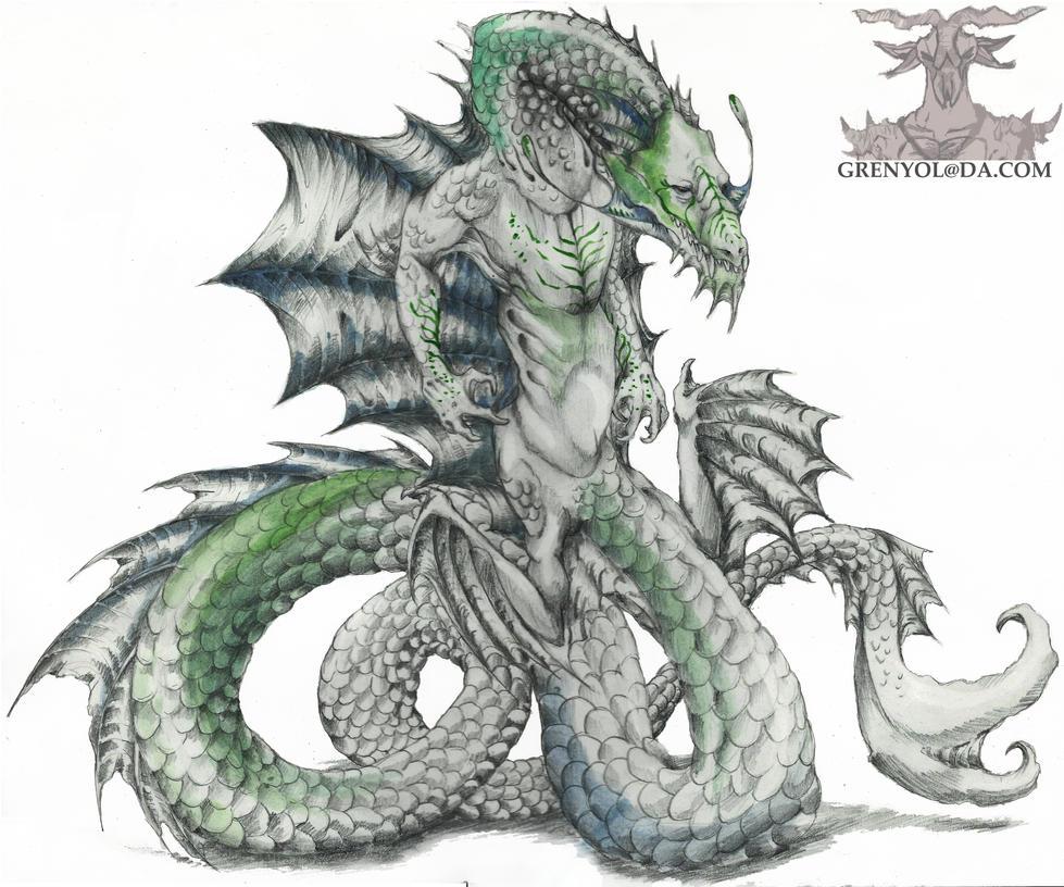 Sea Dragon by Grenyol