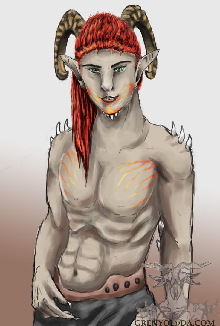 Toibeh Human Form by Grenyol