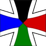 Military insignia of Germanoslavia by hosmich