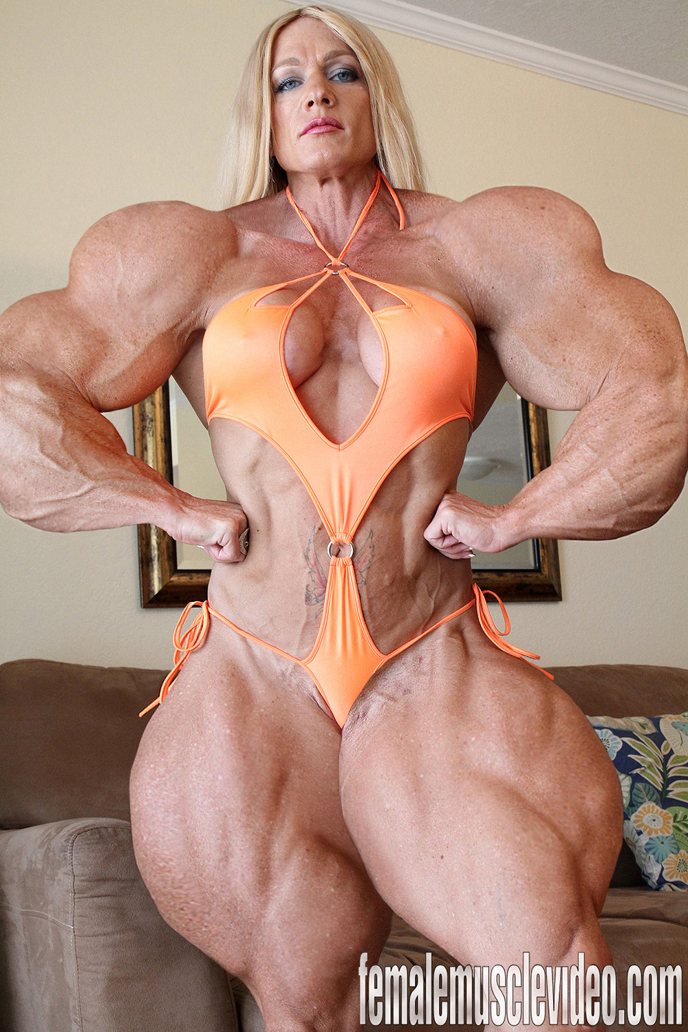 Muscle nude girls hentai image