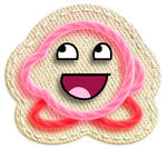 Awesome Face Yarn Kirby