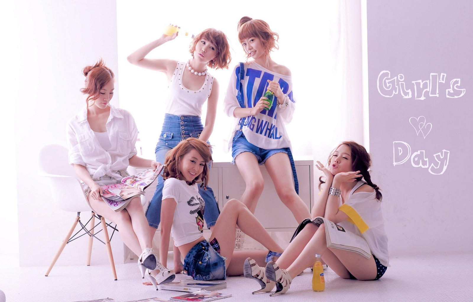girls day wallpaper by - photo #6