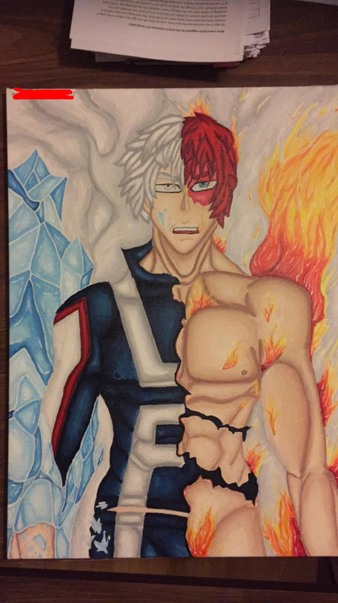 Todoroki Shouto by INeedHugs