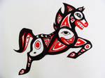 Haida Tribal Horse