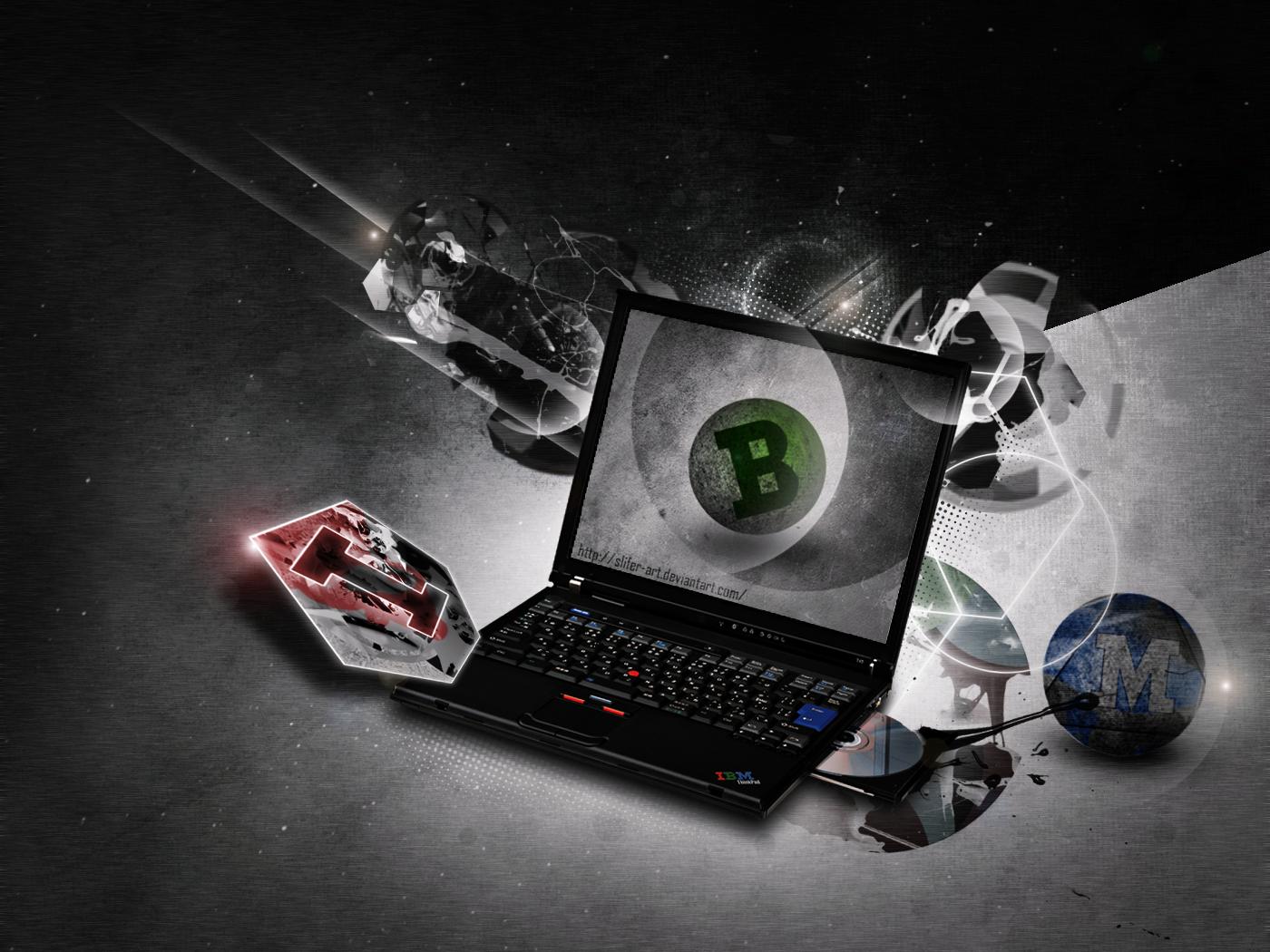 ThinkPad IBM by Slifer-ArT