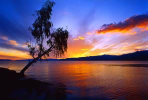 Sunset by yakushkin
