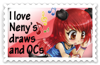 .: Neny Fan - Stamp :. by OhAnika