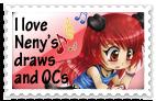 .: Neny Fan - Stamp :. by OhAnika