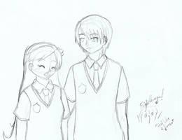 .: Hyunsu y Evadine :. by OhAnika