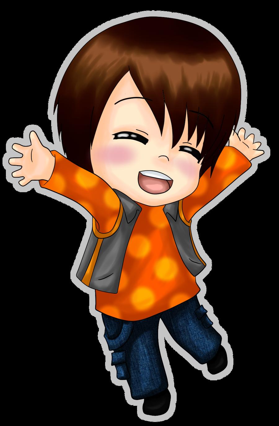 .: Happy Chibi Kim :. by OhAnika on DeviantArt