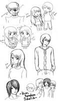 .: Kim Random Scketch :. by OhAnika