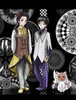 .:* Art Trade - Double Cosplay: Madoka Magica *:. by OhAnika