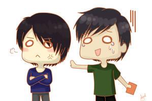 .: YunJae - I-I can explain!! :. by OhAnika
