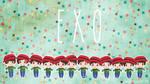 .: EXO Christmas Wallpaper :. by OhAnika