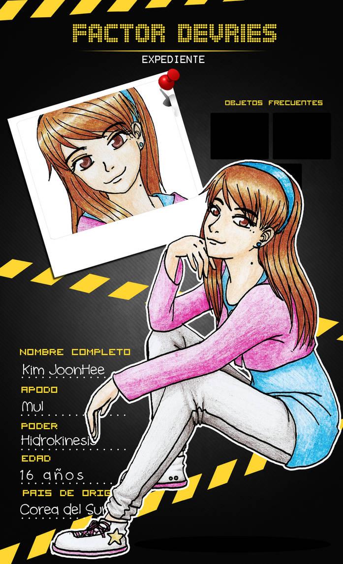 .: JoonHee - Factor Devries :. by OhAnika