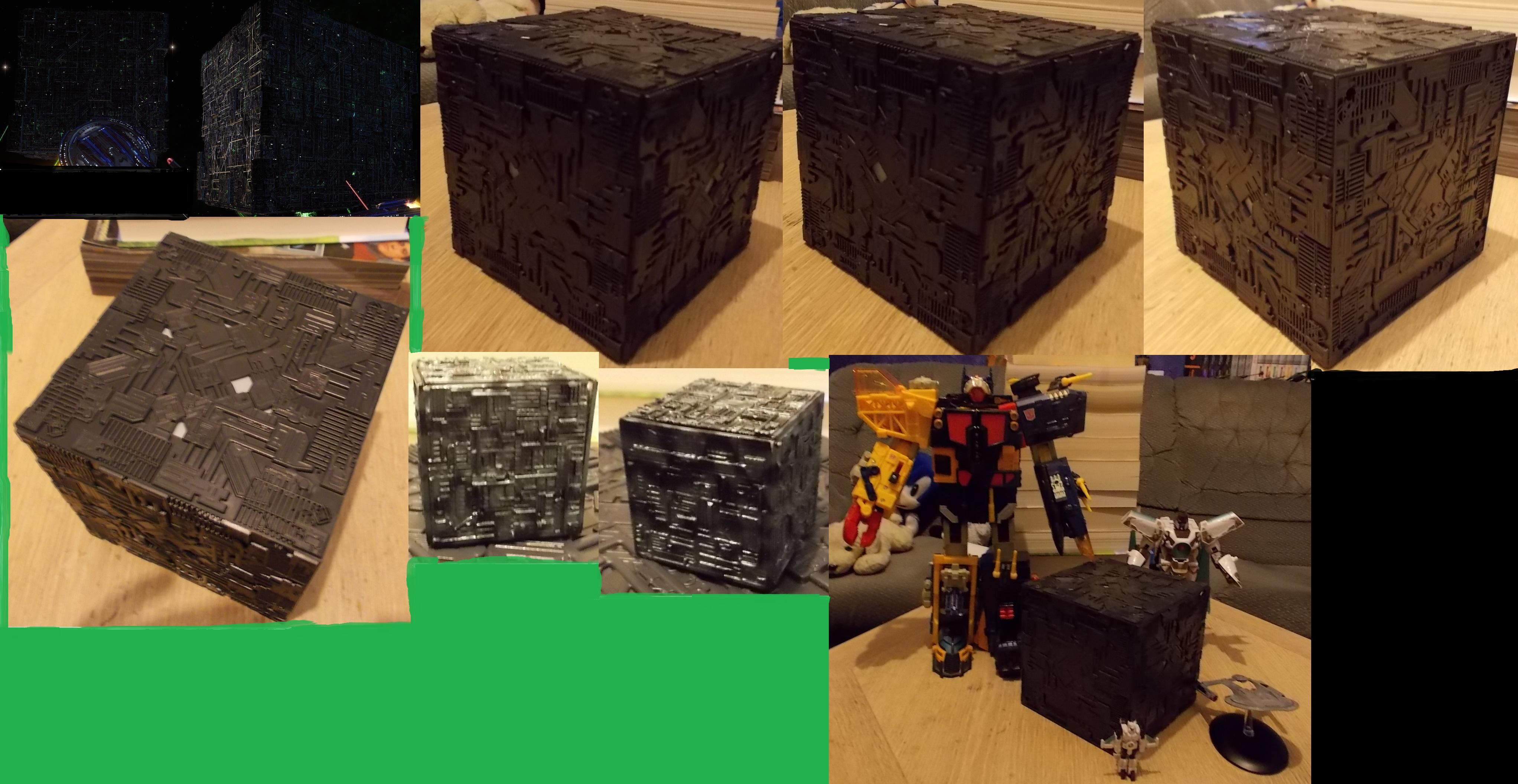 Borg Cube Showcase by ReinaHW on deviantART