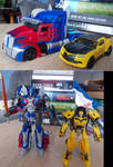 Last Knight Optimus Prime And Bumblebee