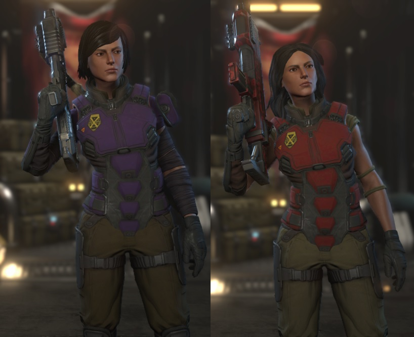 Reina Beaumont And Rena Beaumont In XCom 2 by ReinaHW