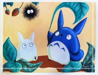 My little Totoro