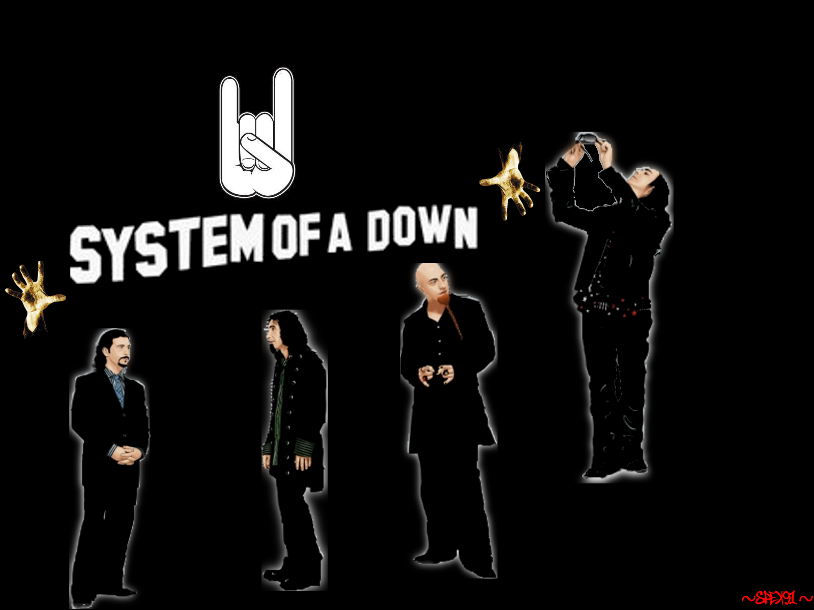 System Of A Down Wallpaper By Spex91 On Deviantart