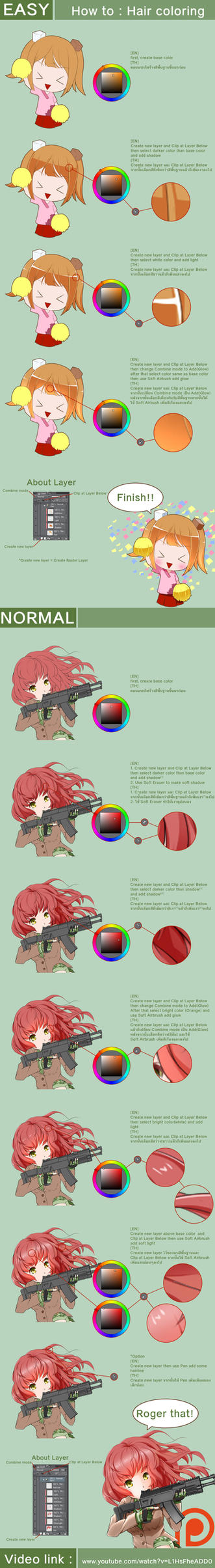 How to : Hair Coloring by UCXIII