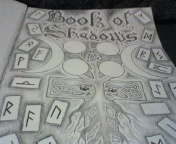Pagan Symbols -Book of Shadows by Lancaid