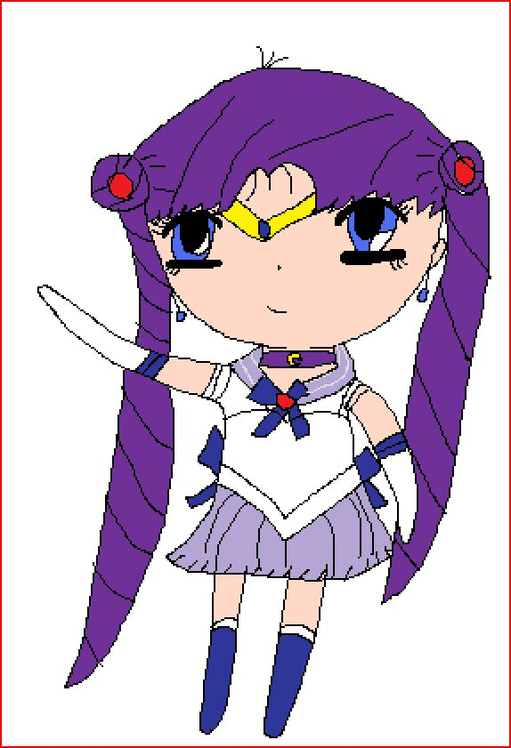 Usagi - Sailor Chibi Chibi Chibi Moon by P4Cheeks