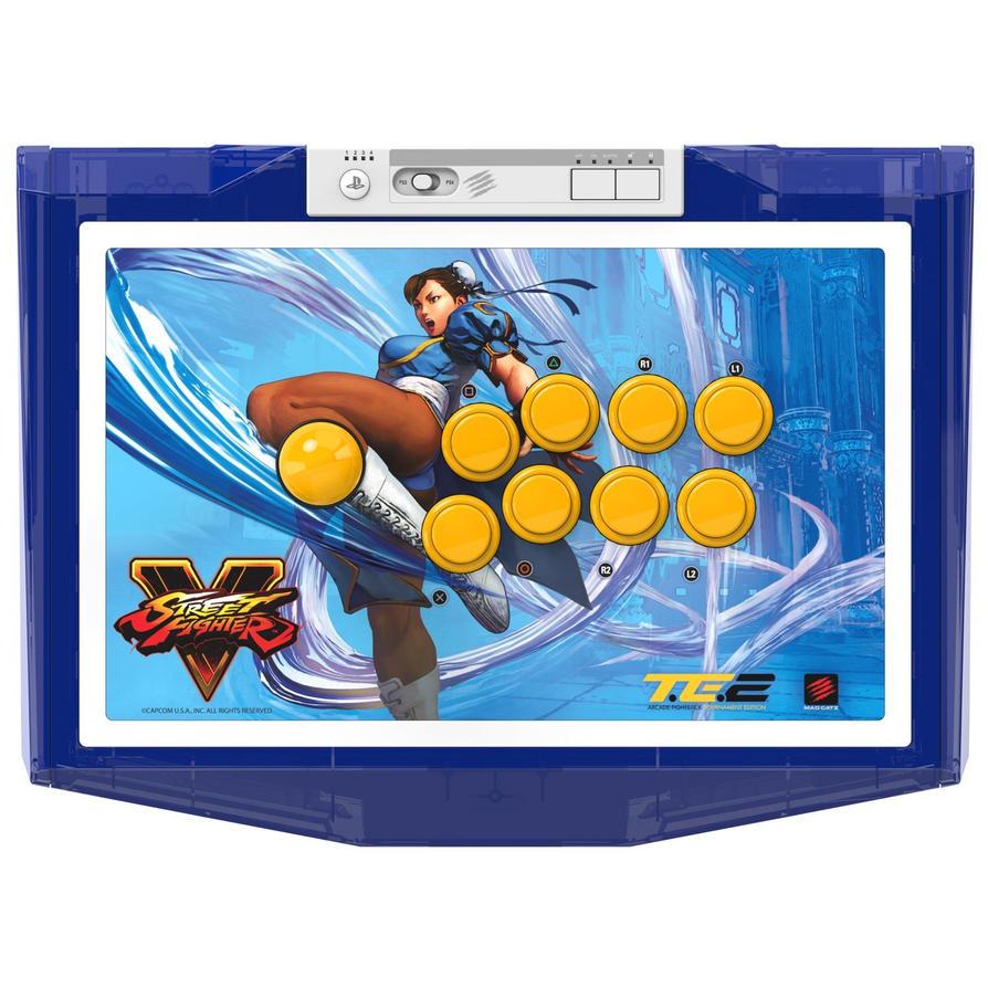 Mad-Catz-Street-Fighter-V-Chun-Li-Arcade-FightStic by jokerfake