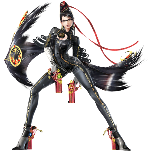 Bayonetta Original SSB4 by jokerfake