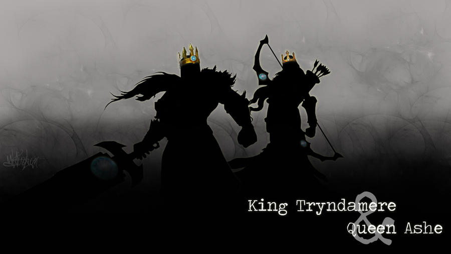 Queen Ashe And King Tryndamere Wallpaper By Cassaria